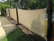 Heavy Duty Yard Lawn House Fence Patio Privacy Wind Screen Enclosure New