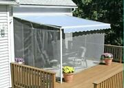 Patio Porch Deck Outdoor Awning Canopy Mosquito Netting Screen Enclosure Tent