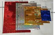 Various Sizes And Colourful Holographic Paper Gift Bags Birthday Party Christmas