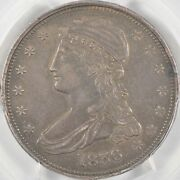 1836 Capped Bust Half Dollar Reeded Edge Pcgs Xf Details
