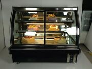 Commercial Refrigerated Bakery Display Case Cake Showcase Donut Pie Display 220v