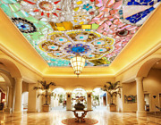 3d Colored Gems Floral 783 Wall Paper Wall Print Decal Wall Deco Aj Wallpaper