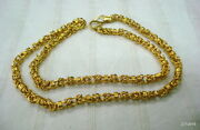 22 Kt Gold Chain Necklace Gold Chain Vintage Gold Chain Antique Gold Chain