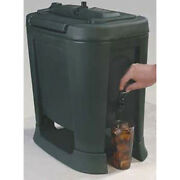 Carlisle Xb503 Drink Container - Slide N Seal Insulated 5 Gallon Black