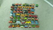 Read Detail Vintage Metal And Wood Thomas The Train W/ The Isle Of Sodor Track Set