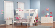 Woodland Staircase Bunk Bed Twin Over Full