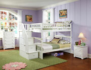 Columbia Staircase Bunk Bed Full Over Full