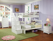 Columbia Staircase Bunk Bed Twin Over Full