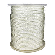 1/2 X 656and039 Nylon Double Braid 7700 Lb Bs Boating White
