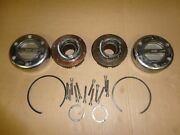 99-04 F-350 Super Duty Ford Mile Marker Dana 60 Front Manual Outer Locking Hubs