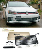 Eos For 18-up Volkswagen Golf Gti Mk7.5 Full Sized Front Tow Hook License Plate