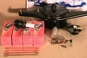 1928-1931 Model A Ford Dlx Tune-up Kit W/brass Contact Dist Body And Usa Points