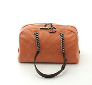 Country Chic Light Rose Quilted Leather Bowler 2011