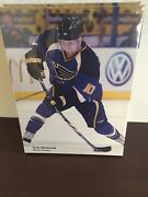 St Louis Blues Andy Mcdonald Canvas 2011 Sga New In Packaging