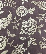 Colefax And Fowler F3929 Compton Amethyst Purple Discontinued Home Fabric Remnant