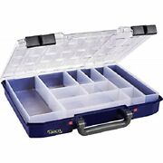 Raaco Pro Carrylite 55 4x8- 10 Compartment Service Case Parts Storage - Fixings