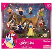 Disney Parks Snow White And Sever Dwarfs Playset Cake Topper New With Box