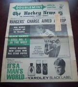 The Hockey News Vol 24 Vol 7 November 20 1970 Vic Hadfield