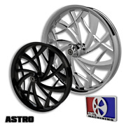30 Inch Astro Custom Motorcycle Wheel Harley Bagger Touring