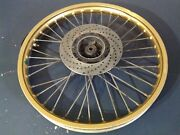 1986 86 Can-am Ase200 Ase 200 250 Front Rim Wheel Hub Akront Oem