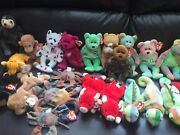 Rare Ty Beanie Babies Over 140 Rare And Retired With Tag Errors, Style , Pvc