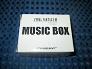 Rare New Final Fantasy Xi Limited Music Box Silver Ver Prelude Theme Of Crystal