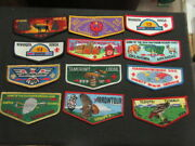 Order Of The Arrow Flap Collection 26 Flaps  Eb07 2