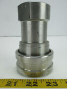 Hansen Quick Connect Pipe Fitting Series Sml8-hp Ball Bearings Ss Coupling Fs