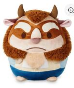 Disney Beauty And The Beast Beast Ufufy Plush Medium New With Tags