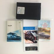 Mazda 2.0 Mzr-cd Owners Manual Book And Leather Case Genuine / 2009