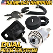 Starter Ignition Switch Replaces Homelite Gp-57823-b W/ Dual Dust Shield System