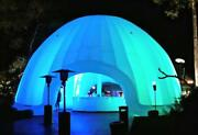 Inflatable Commercial Wedding Event Nightclub Bar Pool Patio Marquee Dome Tent