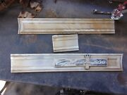 64 Ford Galaxie 500 Tail Panel Trim Finish Panels Gas Door Complete Set Oem