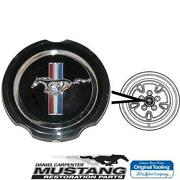 1970 1971 1972 1973 Mustang W/simulated Mag Wheel Hubcaps Emblem Ford Tooling