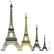 Allgala Eiffel Tower Statue Decor Alloy Metal Various Color And Size