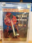 The War Of The Worlds 711 Whitman 1938 Cgc 5.5 Only Graded Copy