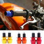 Practical Aluminum Motorcycle Grips Handle Bar Ends Weights Caps Slider Tool Q