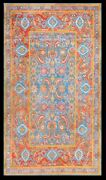 Antique Cotton Agra Rug 4and039 X 6and03910