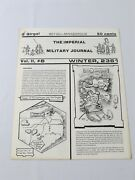 Very Rare The Imperial Military Journal Vol 2 6 Empire Of The Petal Throne