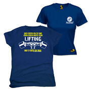Fb Gym Bodybuilding Tee Lifting Way Of Life Womens Fitted T-shirt Top T Shirt