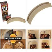 13 Inch Prefabricated Framing Arch Kit Remodel Home Interior Moulding Universal