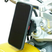 17.5-20.5mm Motorcycle Fork Stem Mount And Tigra Case For Iphone Xs