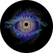 Cosmic Eye Celestial Spare Tire Cover All Sizes Available-back Up Camera Option