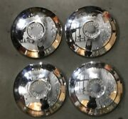 1 Set Chevy Corvair Dog Dishes Hubcaps Wheel Covers 1960-1961 9 1/2 Inches
