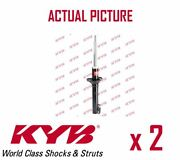 2 X Front Axle Shock Absorbers Pair Struts Shockers Kyb Oe Quality 333802