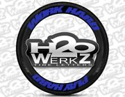 Tire Letters- Work Hard Play Hard - 1.25 - 13andrdquo - 24andrdquo 16decal Kit Permanent