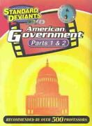 Standard Deviants - American Government Parts 1 And 2 Mint Dvd B3