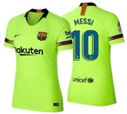 Nike Lionel Messi Fc Barcelona Womenand039s Away Jersey 2018/19