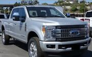 2017-2019 Ford Super Duty F250 F350 Painted Ignot Silver Ux Front/rear Bumpers