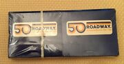 Vintage Roadway Trucking 50th Anniversary Matches Sealed